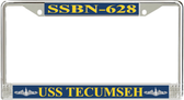 USS Tecumseh  SSBN-628 License Plate Frame