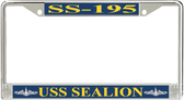 USS Sealion SS-195 License Plate Frame