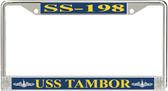 USS Tambor SS-198 License Plate Frame