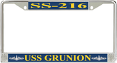 USS Grunion SS-216 License Plate Frame