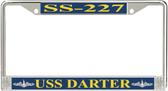USS Darter SS-227 License Plate Frame