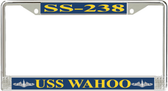 USS Wahoo SS-238 License Plate Frame