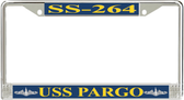USS Pargo SS-264 License Plate Frame