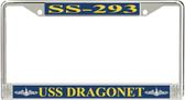 USS Dragonet SS-293 License Plate Frame