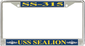 USS Sealion SS-315 License Plate Frame