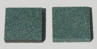 Green Stones for Ski Sharp Tool (pair)