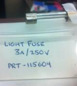 Light Fuse 3A/250V