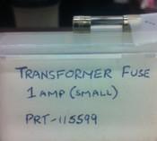 Transformer Fuse 1amp (small)