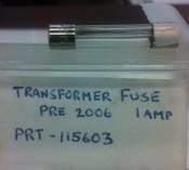 Transformer Fuse 1amp Pre 2006