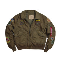 Alpha Industries CWU Pilot Jacket Sage/Brown