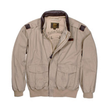 "Cockpit USA ""100 Mission"" Cotton A-2 Jacket"