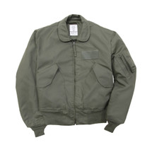 Alpha Industries CWU 36/P Nomex Mil Spec Flight Jacket Sage Green USA Made