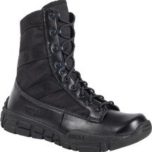 ROCKY C4T TRAINER MILITARY DUTY BOOTS BLACK