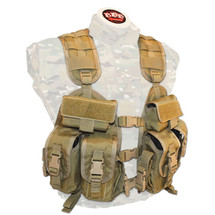 BDS Tactical Patrol Vest Coyote Brown USA Made