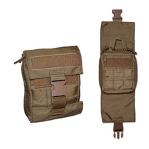 BDS Tactical Modular Medical Quick Release Pouch Coyote Brown USA Made