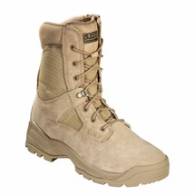 "5.11 Tactical ATAC 8"" Coyote Boot with Side Zip"