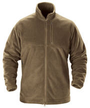 Beyond Clothing PCU Level 3 Wind Block Cold Blooded Fleece Jacket 100% Windproof Coyote Brown