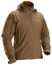 Beyond Clothing PCU M5 Softshell Cold Fusion Jacket Coyote Brown USA Made
