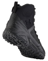 Under Armour Tac Zip 2.0 Boot Full Grain Waterproof Leather Black