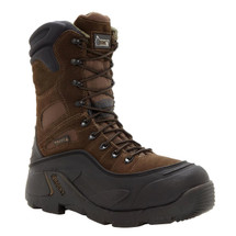 Rocky Blizzardstalker Pro Waterproof 1200 Gram Thinsulate Insulated Boot Brown Steel Toe