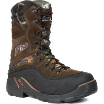 Rocky Blizzardstalker Pro Waterproof 1200 Gram Thinsulate Insulated Boot Brown Mossy Oak Breakup Camo