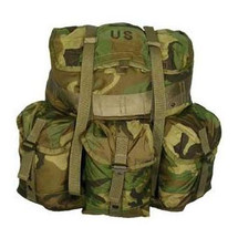 US Military ALICE Pack Med. with LC II Frame & Kidney Pad (New) Olive Drab, OD
