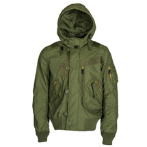 Alpha Industries Helo Bomber Utility Jacket  Sage Green