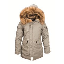 Alpha Industries Women's Altitude Parka Alaska Green