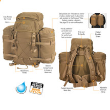 Snugpak RocketPak Assault Pack 2,440 Cubic Inches / 40 Liters Coyote
