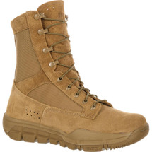 Rocky Lightweight Commercial Military Boot Coyote Brown