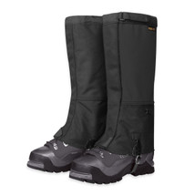 Outdoor Research Expedition Crocodiles Leg Gaiters Black Gore-tex USA Made