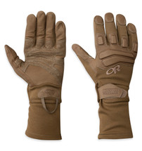 Outdoor Research Firemark Gauntlet Gloves Nomex Coyote Brown TAA