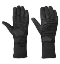 Outdoor Research Firemark Gauntlet Gloves Nomex Black TAA