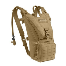 Camelbak Ambush Coyote Brown With Mil Spec Reservoir & Laser Molle