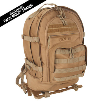 S.O.C. Of California Three Day Pass (Pack Mule™ Set) - Coyote Brown