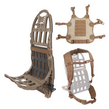 S.O.C. Pack Mule™ Full Kit - Coyote Brown, military pack frame