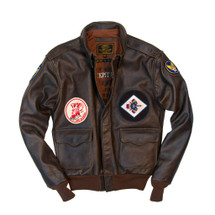 Cockpit USA 40th Anniversary Red Raiders A-2 Jacket USA Made