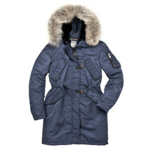 Cockpit USA Women's Sapphire N3B Parka USA Made