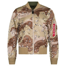 Alpha Industries MA-1 Slim Fit Double Camo 6 Color Desert Night Desert