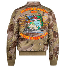Alpha Industries CWU/45 P Storm Cruiser Flight Jacket Chocolate Chip Camo