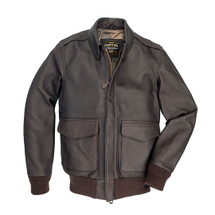 Cockpit USA Bond Street A-2 Flight Jacket Brown USA Made