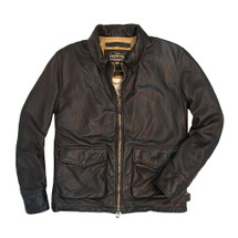 Cockpit USA Division Commander's Leather Tanker Jacket