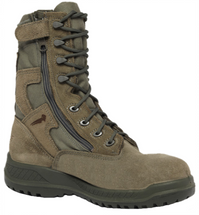 Belleville 610 Z ST Hot Weather Side-Zip Steel Toe Tactical Boot Sage Green