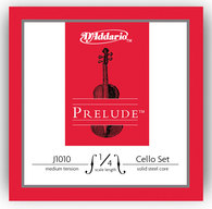 D'Addario Prelude Cello Strings Set - 1/4