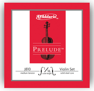 D'Addario Prelude Violin Strings Set - 1/16