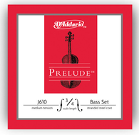 D'Addario Prelude Bass Strings Set - 3/4