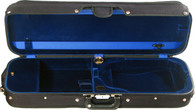 Bobelock Oblong Violin Case with Suspension - Velvet - Blue