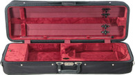Bobelock Featherlite Oblong Violin Case - Velour - Wine