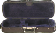 Bobelock Oblong Violin Shipping Case - Velour - Blue