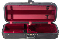 Bobelock Featherlite Oblong Adjustable Viola Case - Velvet - Wine